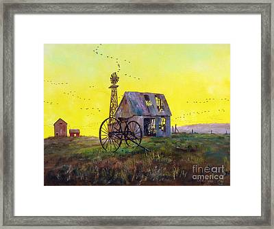 Abandoned  Farm Framed Print