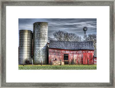Abandoned Farm New Jersey Framed Print