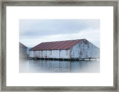 Abandoned Fishery Plant Framed Print