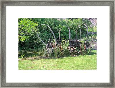 Framed Print featuring the photograph Abandoned by Gordon Elwell