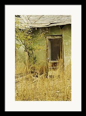 Abdandoned House Framed Prints