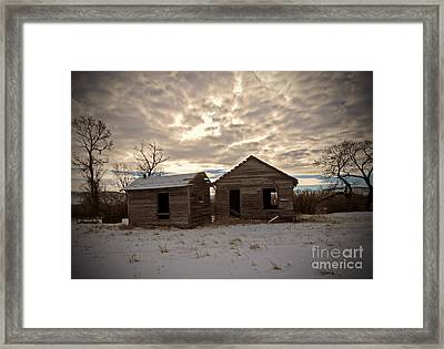 Abandoned History Framed Print by Desiree Paquette