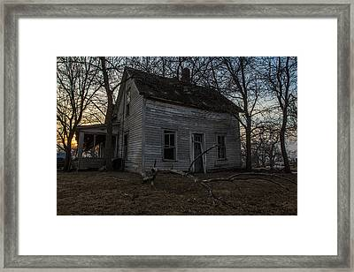 Abandoned Home Framed Print by Aaron J Groen
