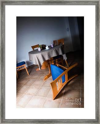 Abandoned Home Framed Print