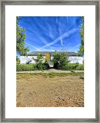 Abandoned Hospital Alberta Framed Print by Starlux  Productions