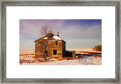 Abandoned House Framed Print by Jeff Swan