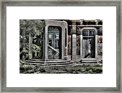 Abandoned House Framed Print by Marco Oliveira
