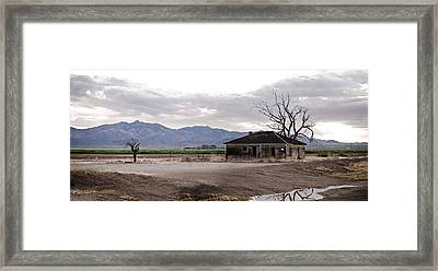 Abandoned House Framed Print by Swift Family