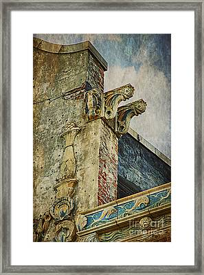Framed Print featuring the photograph Abandoned In Coney Island by Vicki DeVico
