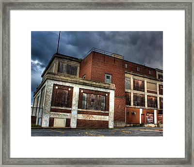 Abandoned In Hdr Framed Print by Tim Buisman