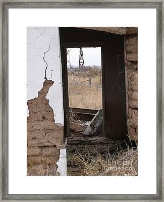 Abandoned In Texas Framed Print