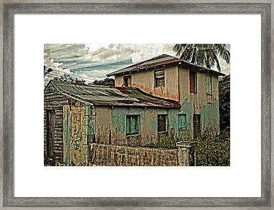 Abandoned In The City Framed Print by Kathy Jennings