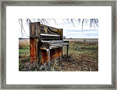 Abandoned Framed Print by Jean Hutchison