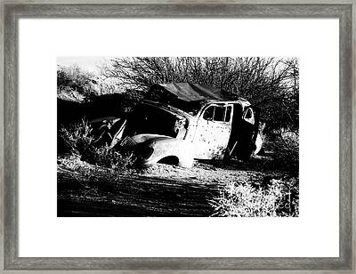 Framed Print featuring the photograph Abandoned by Jessica Shelton