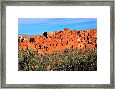 Abandoned Jewish Village  Framed Print