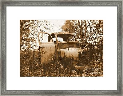 Abandoned Journey Framed Print by Michael Hoard