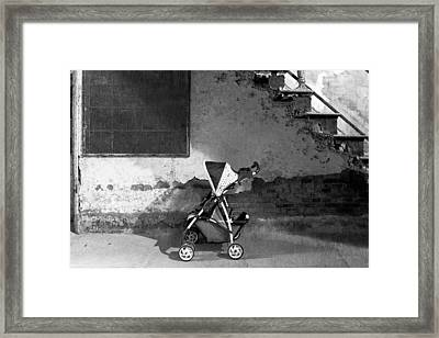 Abandoned - Left Behind  Framed Print by Mike Savad