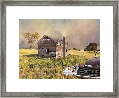 Abandoned Framed Print by Liane Wright