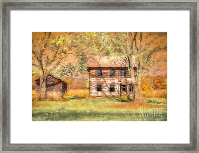 Abandoned Framed Print by Lois Bryan