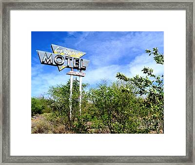 Framed Print featuring the photograph Abandoned Los Alamos by Utopia Concepts