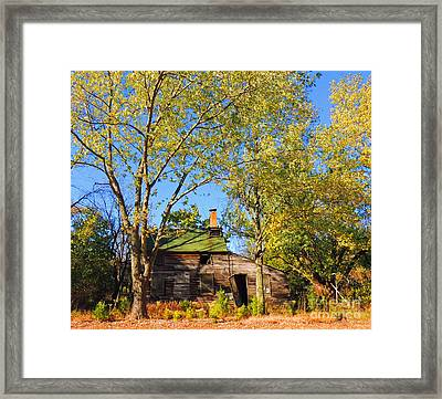 Abandoned Framed Print by Marian DeSalvo-Rodgers