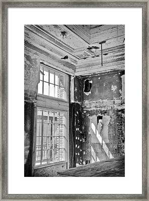 Abandoned Memories Framed Print by Davina Washington