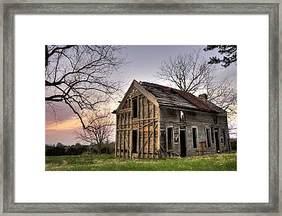Abandoned Memories II Framed Print