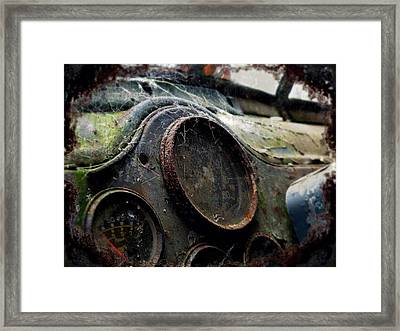 Framed Print featuring the photograph Abandoned by Micki Findlay