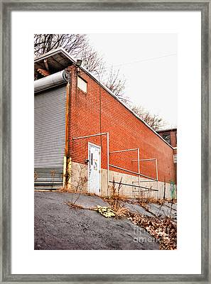 Abandoned Mill Framed Print by HD Connelly