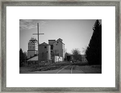 Abandoned Mill Framed Print by Richard LaVere