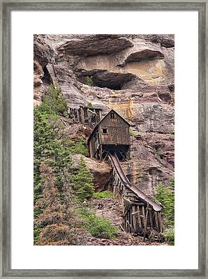 Abandoned Mine Framed Print