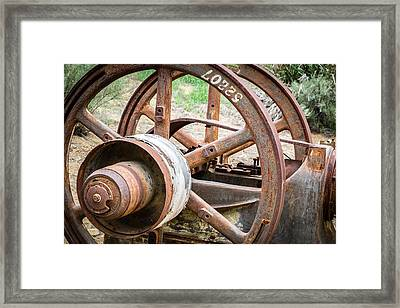 Abandoned Mining Tools Framed Print