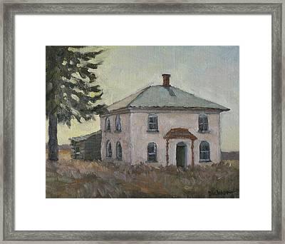 Abandoned Near Hillsboro Framed Print