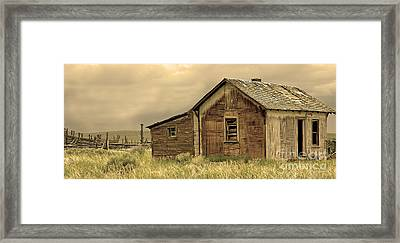 Framed Print featuring the photograph Abandoned by Nick  Boren