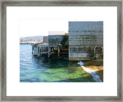 Framed Print featuring the photograph Abandoned On Cannery Row by Paul Foutz