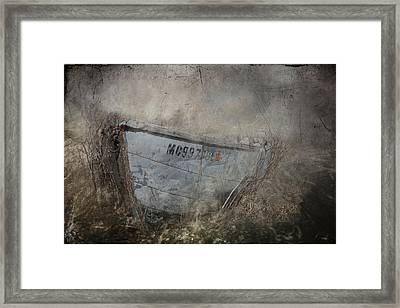 Abandoned On Sugar Island Michigan Framed Print by Evie Carrier
