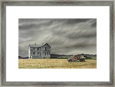 Abandoned   Framed Print by Paul Krapf