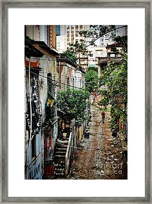 Abandoned Place In Sao Paulo Framed Print