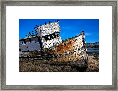 Abandoned Point Reyes Framed Print by Garry Gay