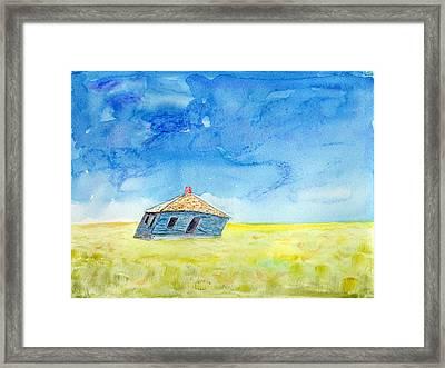 Abandoned Prairie Framed Print