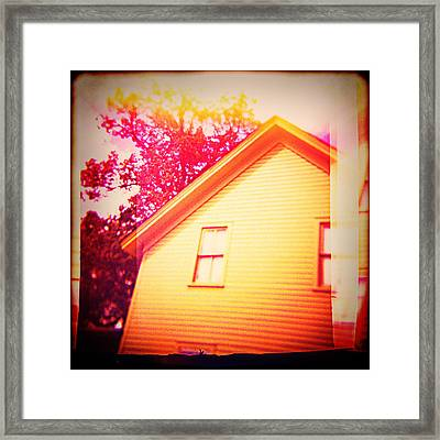 Abandoned Property Framed Print