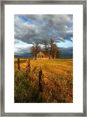 Abandoned Framed Print by Randy Wood