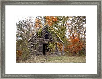 Framed Print featuring the photograph Abandoned by Robert Camp