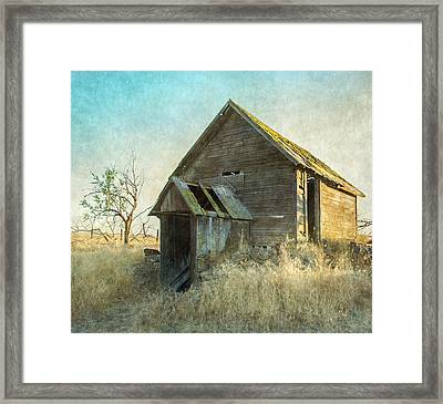 Abandoned Root Cellar Framed Print