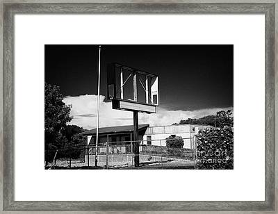 Abandoned Ruined Shop Store Closed Key Largo Florida Keys Usa Framed Print by Joe Fox