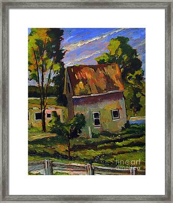 Abandoned Rural Framed Print by Charlie Spear