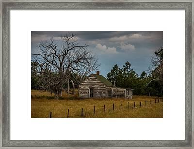 Abandoned Shack Framed Print