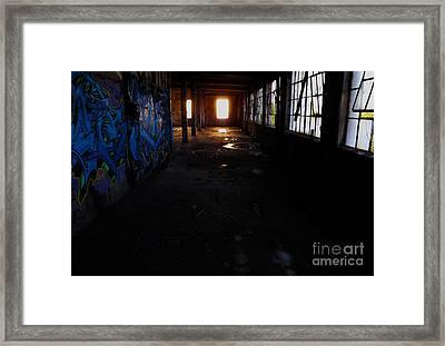 Abandoned Space I Framed Print by James Aiken