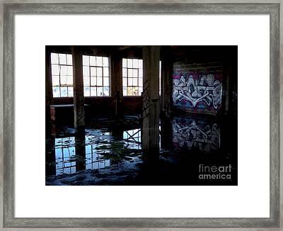 Abandoned Space II Framed Print by James Aiken