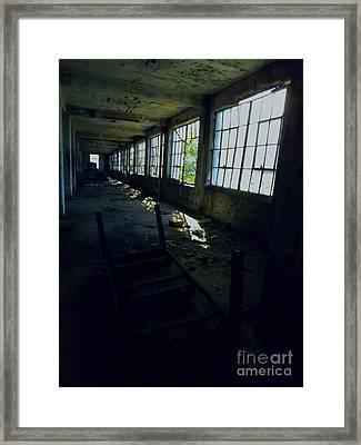 Abandoned Space IIi Framed Print by James Aiken